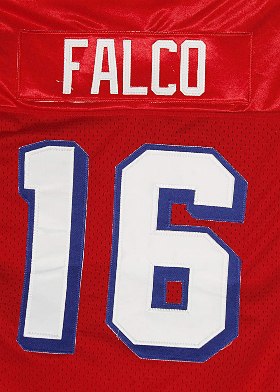 borizcustoms Shane Falco 16 Washington Sentinels Home Football Jersey Replacements Includes League Stitch