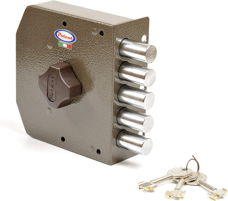 Potent 415/S Cerradura llave sola, cierre puerta izquierda