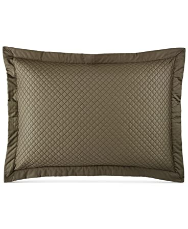 king size pillow shams canada quilted sham tweed green off white