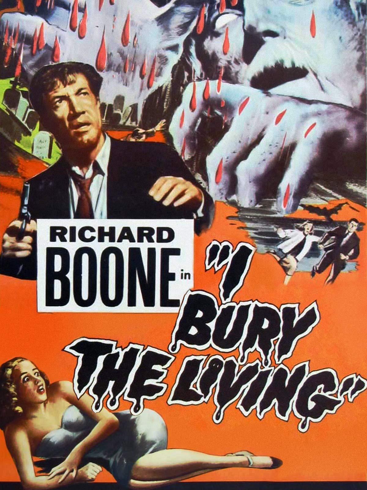 Richard Boone in I Bury The Living