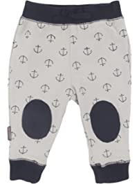 Blue Banana Baby Boys Play Pants, Grey Print, 18 Months