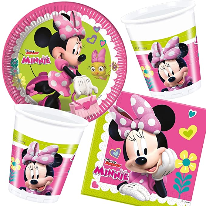 37 piezas Party * Minnie - Happy Helpers * para fiestas de ...