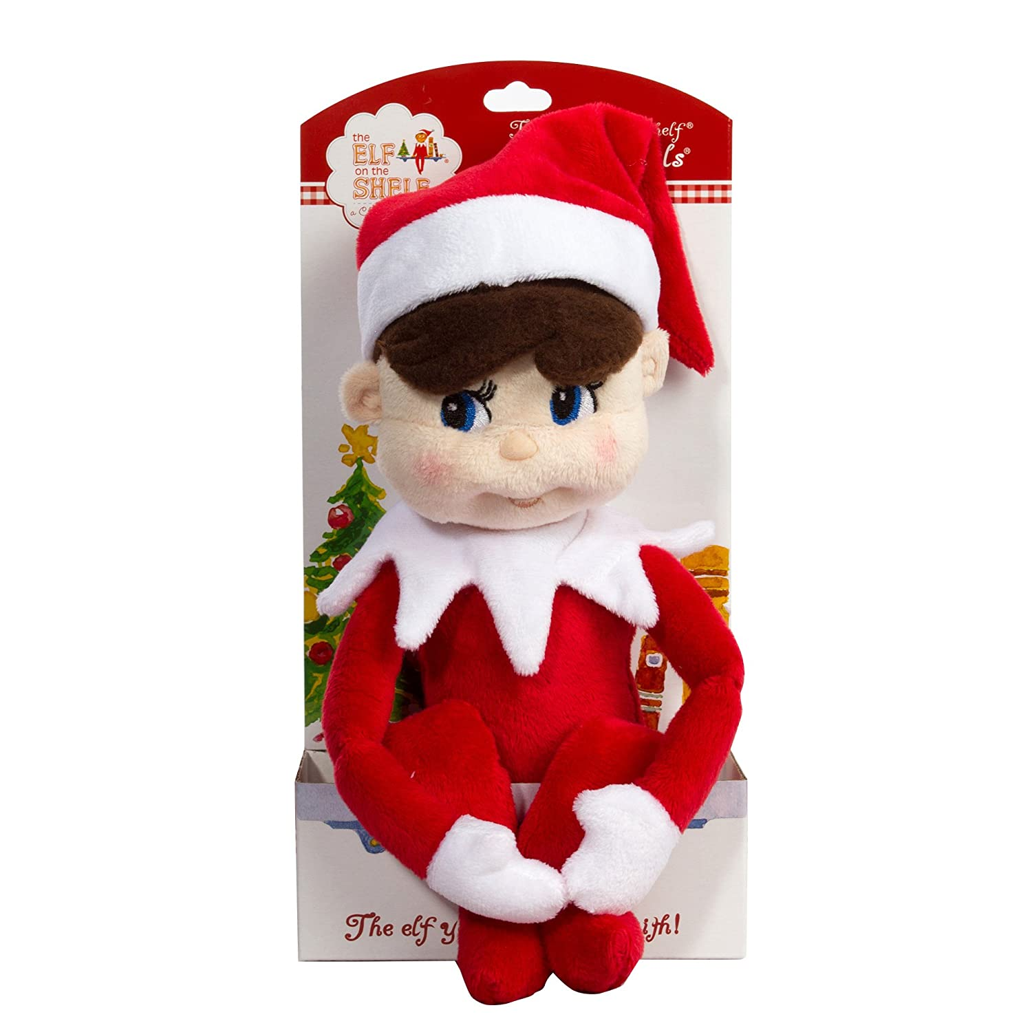amazon com the elf on the shelf plushee pal toys u0026 games