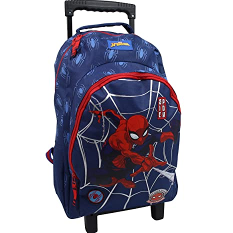 Spiderman Maleta XL maletín Infantil Mochila Maleta de Viaje Funda Marvel 7538