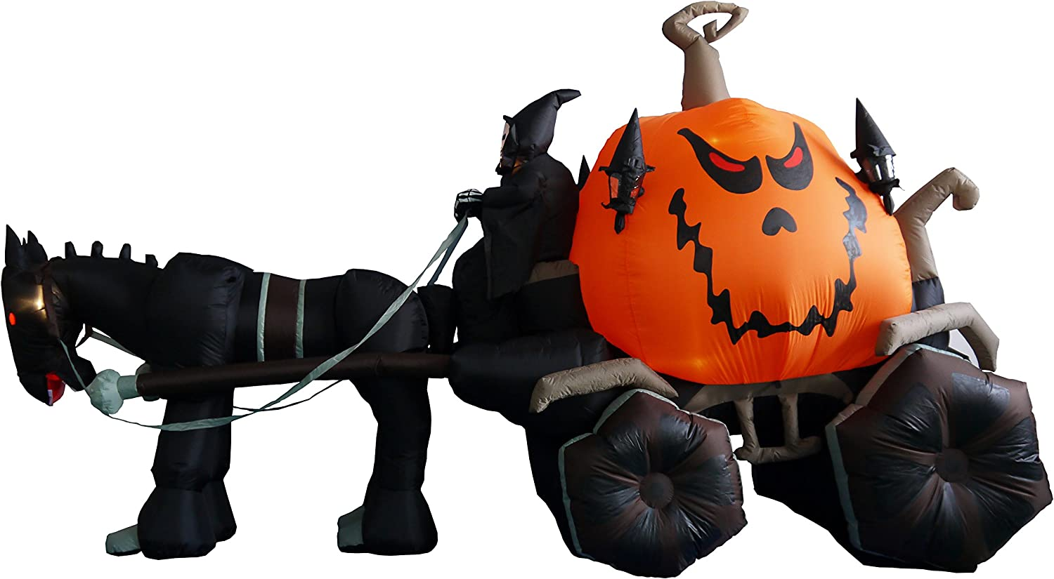Halloween Carriage Outdoor Inflatables