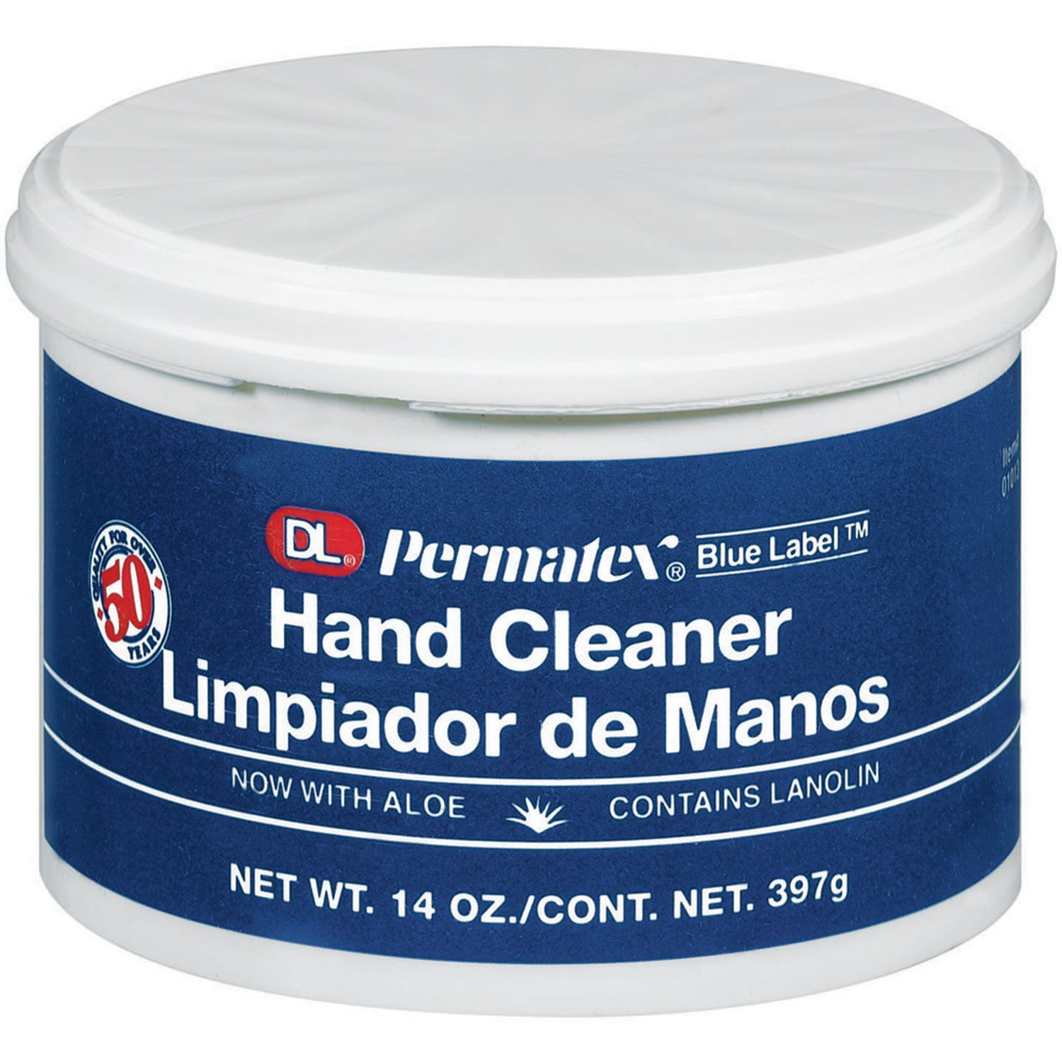 Permatex 01406-6PK DL Blue Label Cream Hand Cleaner - 4.5 lbs., (Pack of 6) Rain-X