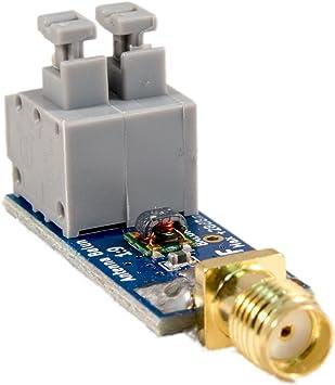 Nueve - Tiny NooElec almendrada un bajo costo 1:9 HF Antena ...