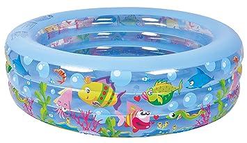 Captivating Jilong Aquarium Pool Ø 185 X 50 Cm Kinderpool Planschbecken Schwimmbecken  Kinder Schwimmbad Für Garten Und