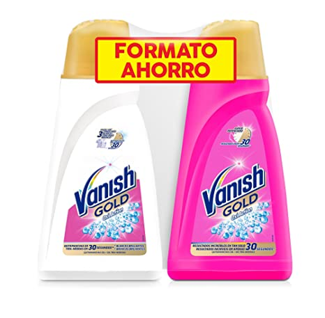 Vanish Gold Oxi Action White Quitamanchas Gel - Pack de 2 x 940 ml