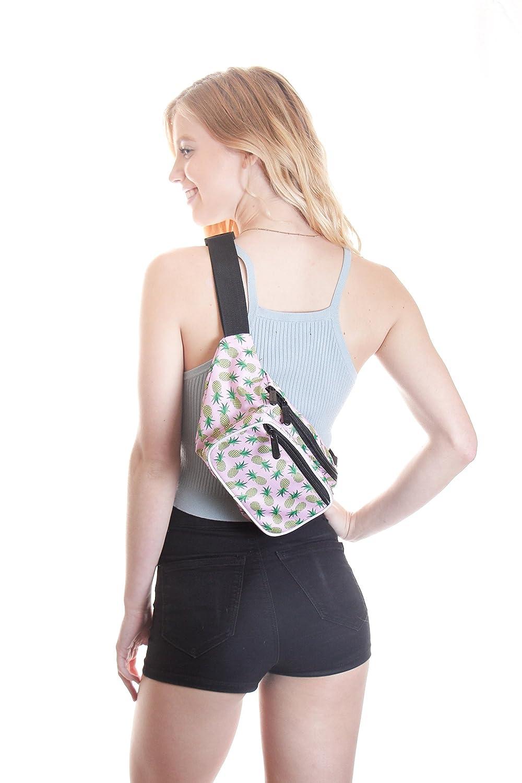 Cute Waist Bag Fashion Belt Bags rave festival Neon Packs for men women SoJourner White Party Fanny Pack