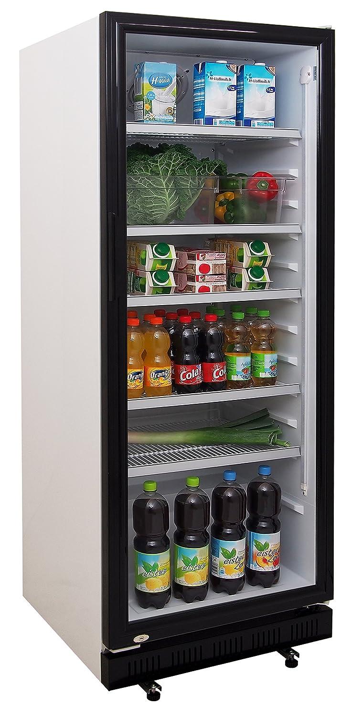 Zorro - Flaschenkühlschrank ZK360 - Glastüre - 4 Roste ...