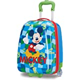 American Tourister Kids' Disney Hardside Upright Luggage, Mickey Mouse 2, Carry-On 16-Inch