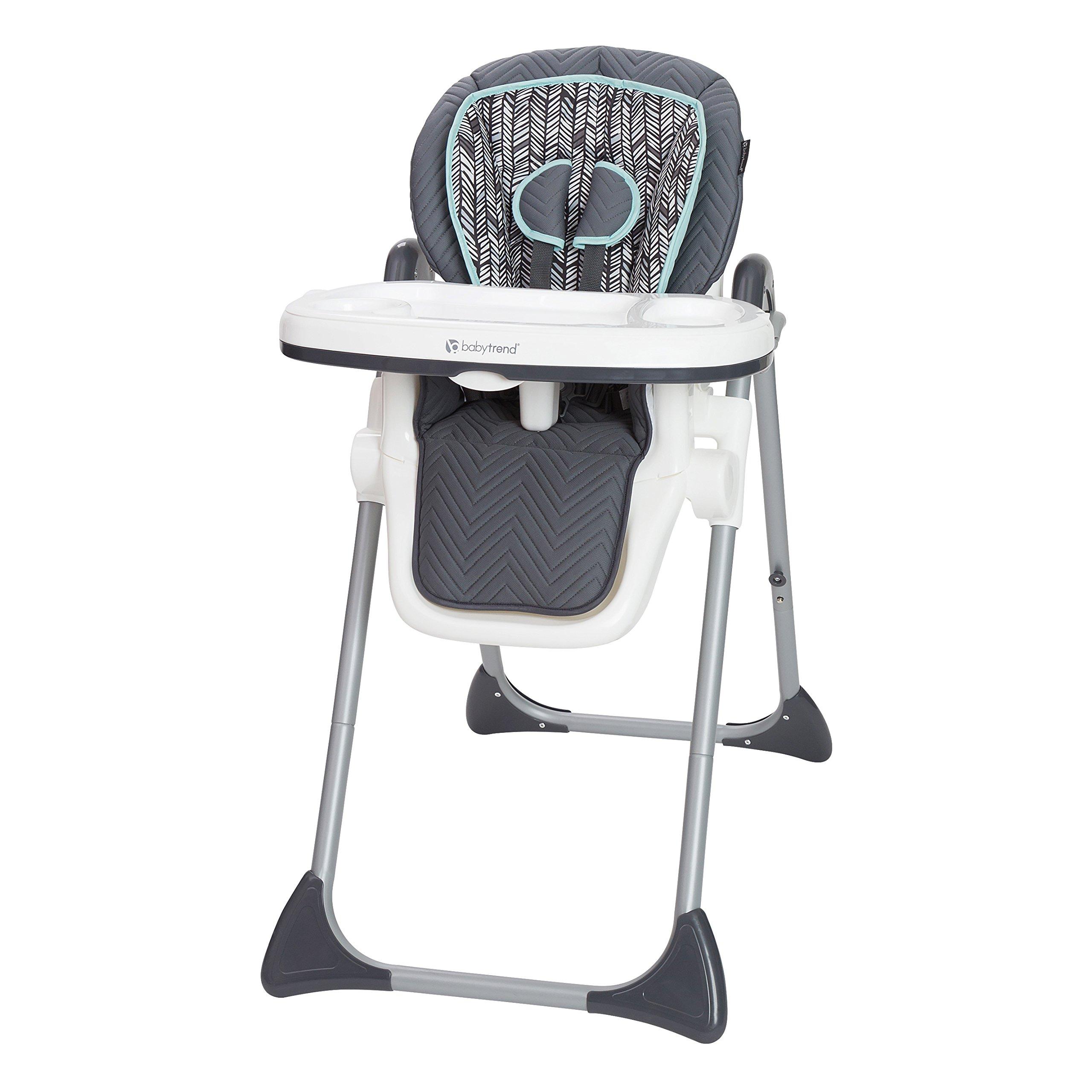 Baby Trend TOT Spot High Chair, Ziggy