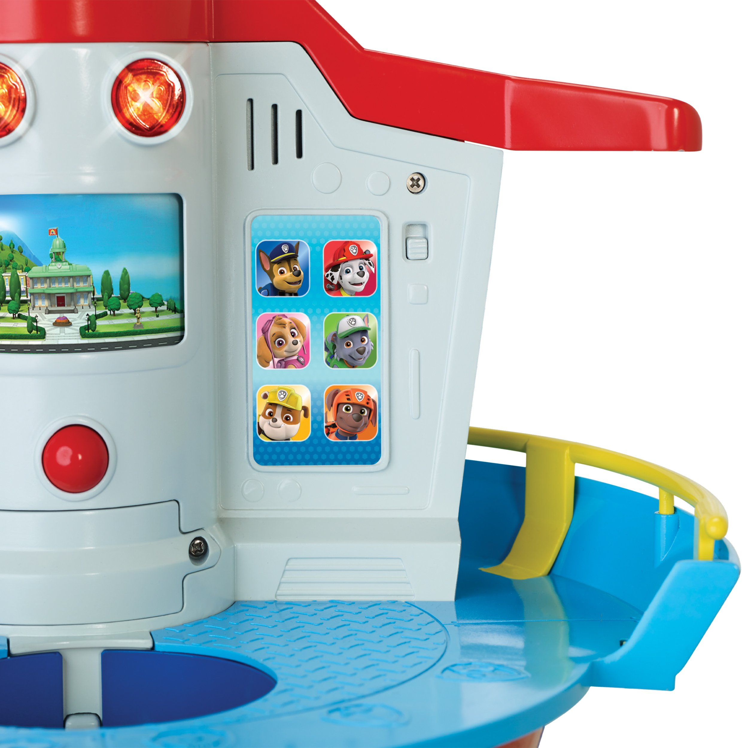 PAW Patrol My Size Lookout Tower with Exclusive Vehicle, Rotating Periscope & Lights & Sounds by Nickelodeon (Image #10)