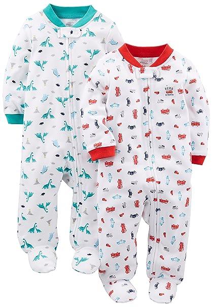 1e2f25198 Simple Joys by Carter s Baby - Juego de 2 piñones de algodón para Dormir y  Jugar