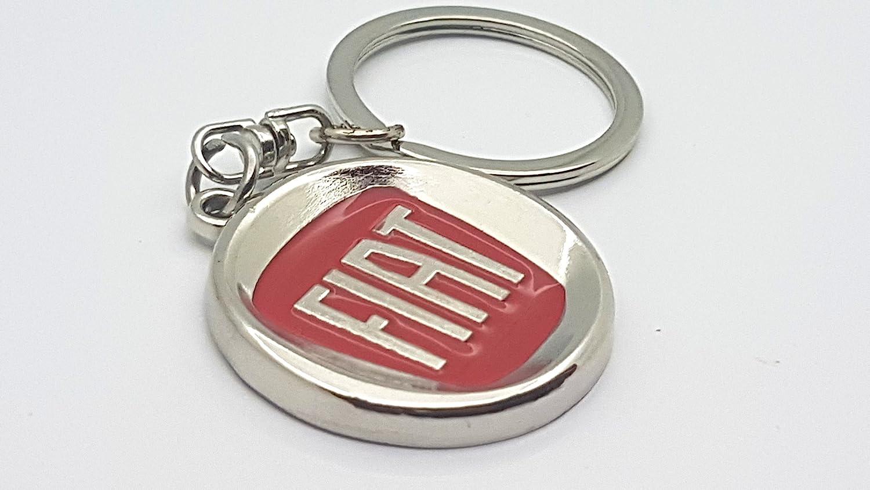 gift4all Fiat Car Logo Metal Keyring Simple Style Key Fob Keychain High Quality S1