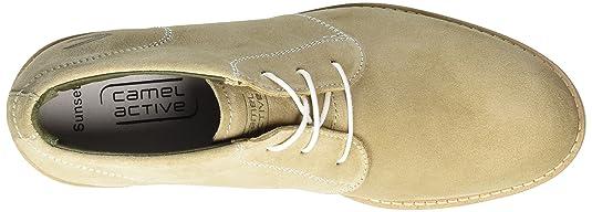 camel active Herren Sunset 12 Desert Boots, Beige (Cord 02