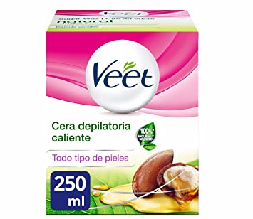 Veet Tarro Cera Depilatoria Tibia Natural Inspirations - 250 ml: Amazon.es: Amazon Pantry