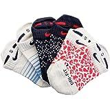 Nike Women's Dri-FIT 3-Pair Tab No-Show 3-Pack Socks