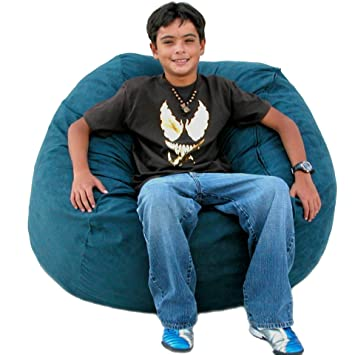 Cozy Sack 3 Feet Bean Bag Chair Medium Navy