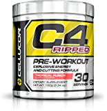 Cellucor C4 Ripped Tropical Punch Pre Workout Powder 30 Servings