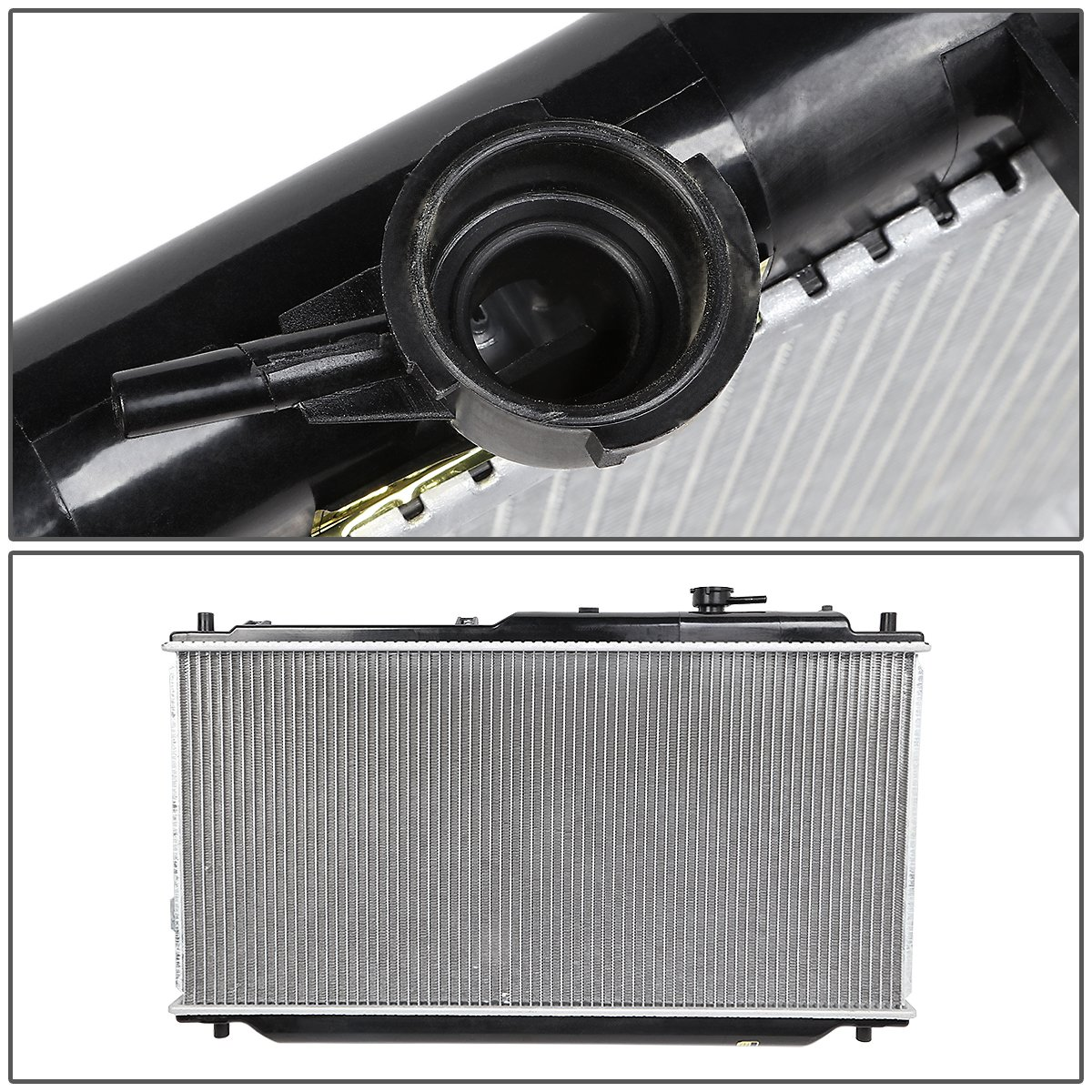 DNA Motoring OEM-RA-2441 OE Style Direct Fit Radiator For 00-00 Spectra