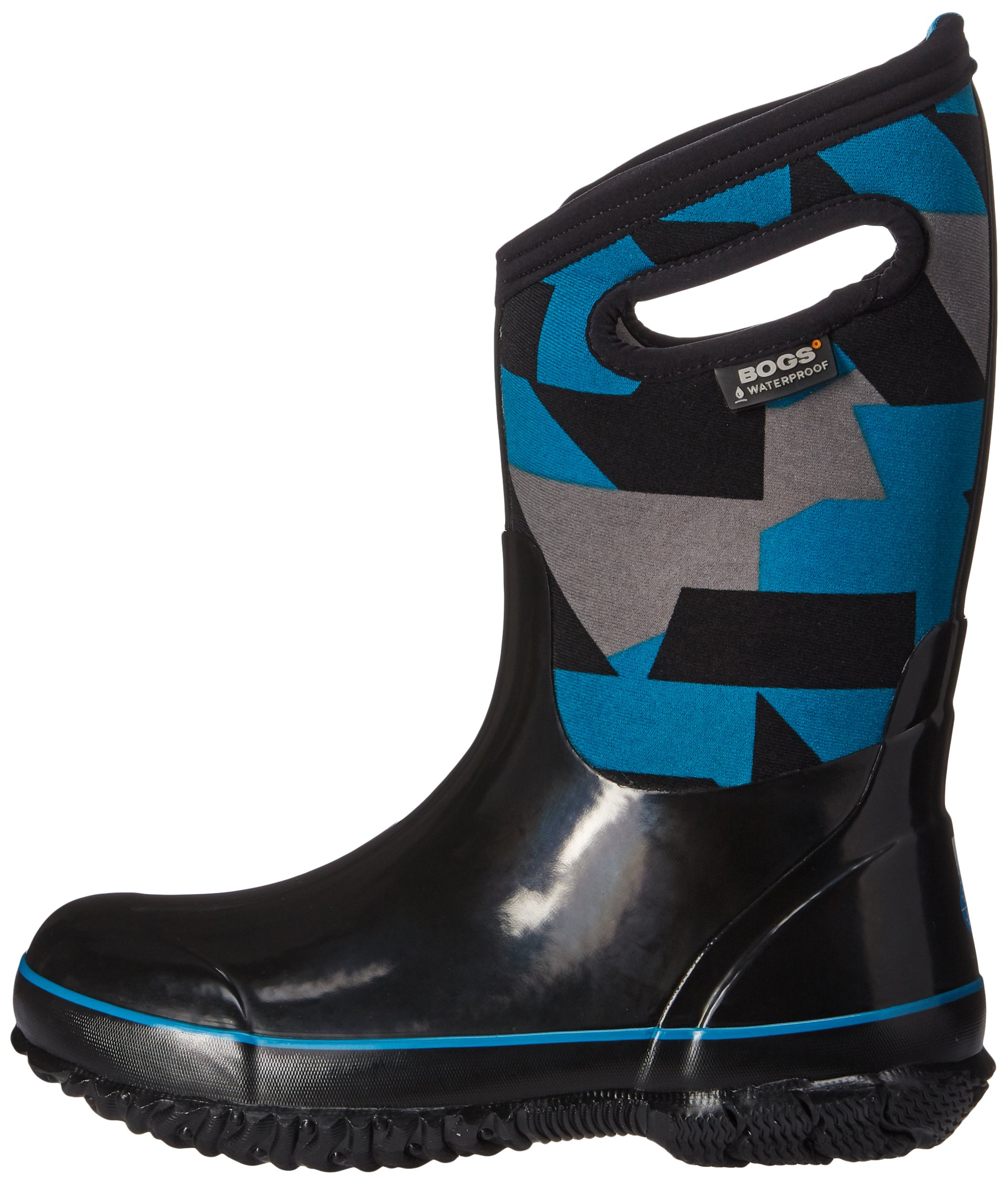 Bogs Kids' Classic High Waterproof Insulated Rubber