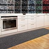 Küchenläufer Granada in großer Auswahl | strapazierfähiger Teppich Läufer für Küche Flur uvm. | rutschfester Teppichläufer / Flurläufer für alle Böden ( 80x200 cm Beige )