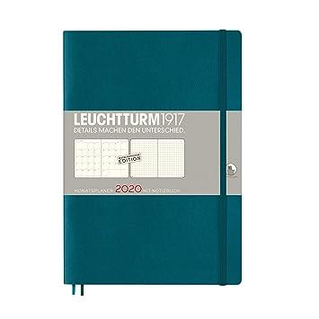 Agenda mensual con cuaderno 2020, tapa blanda, composición ...