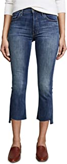 product image for MOTHER Women's The Insider Crop Step Fray Jeans