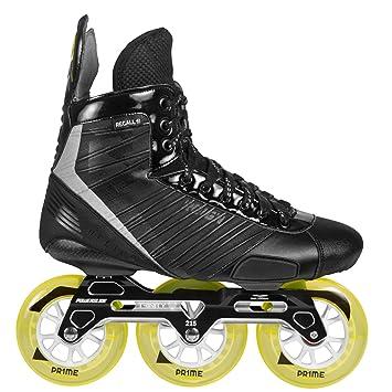 Powerslide Reigns Helios Trinity Indoor Hockey sobre patines en línea, negro, 43: Amazon.es: Deportes y aire libre