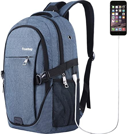 5e02fdc8ad58 Laptop Backpack for Men Women Back Pack Waterproof College Computer  daypacks teenagers s Travel bagpacks with External