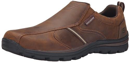 (Skees) Superior- Misko - Zapatillas de Deporte para Hombre, Color Marrón, Talla 42 Skechers