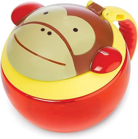 Imagen deSkip Hop Zoo Snackcup - Recipiente para aperitivos infantil, multicolor