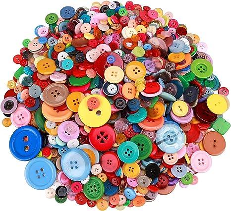 40 MIX green moss green 14-28 mm buttons mixed lot