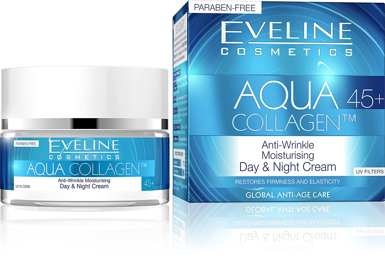 eb30f640b109 Eveline Cosmetics Aqua Hybrid Anti-wrinkle Face Cream: Amazon.de: Beauty