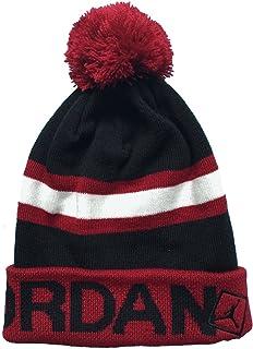 b12c87b53dd1 Amazon.com  Nike Jordan Jumpman Cable Pom Beanie Hat (8 20