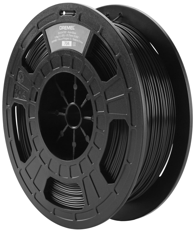 Dremel 2615BP45JB Filament pour Imprimante 3D en Nylon Noir Diam/ètre 1,75 mm