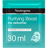 Neutrogena The Detoxifier Purifying Boost Hydrogel Recovery Mask 30 ml, Pack of 1