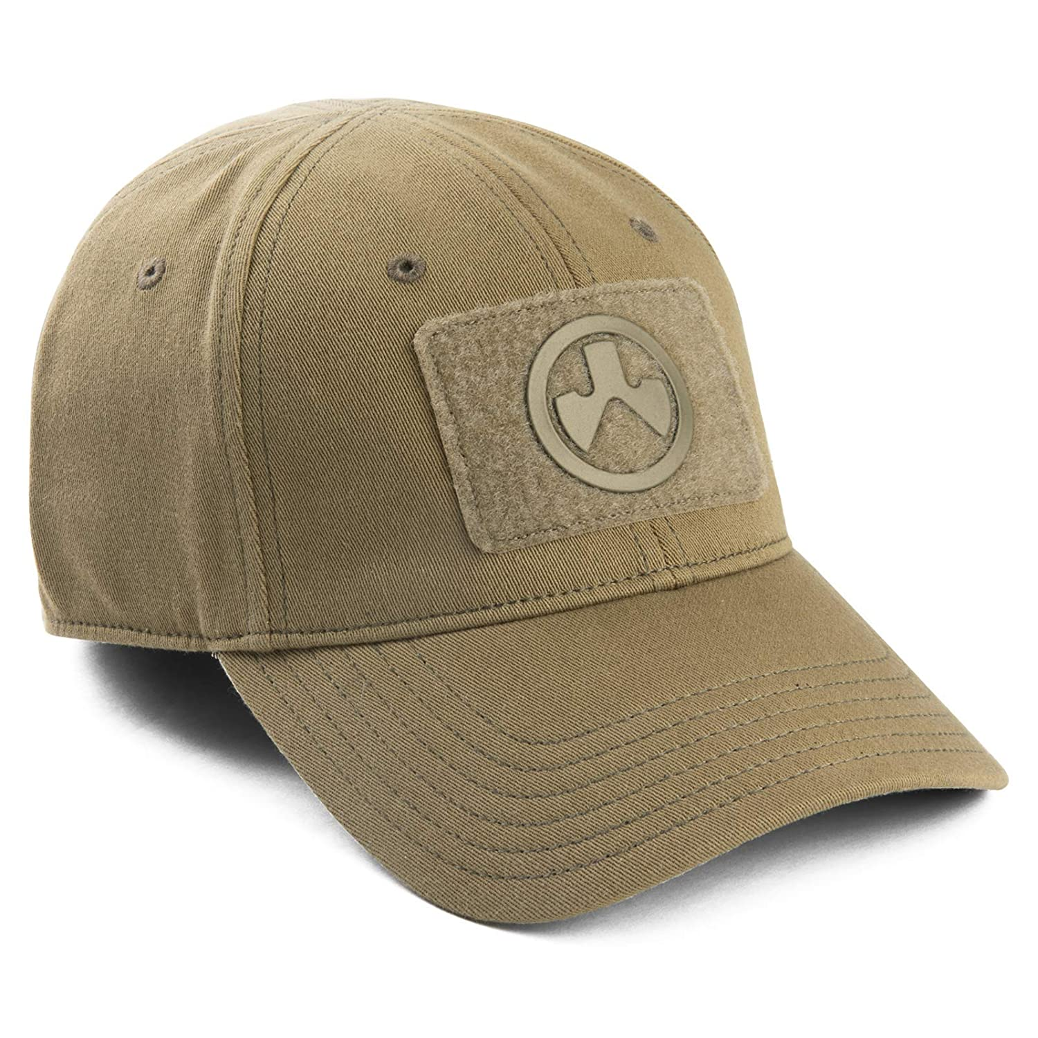 Khaki Magpul Hook /& Loop Patch Core Cover Stretch Fit Baseball Cap Large//X-Large