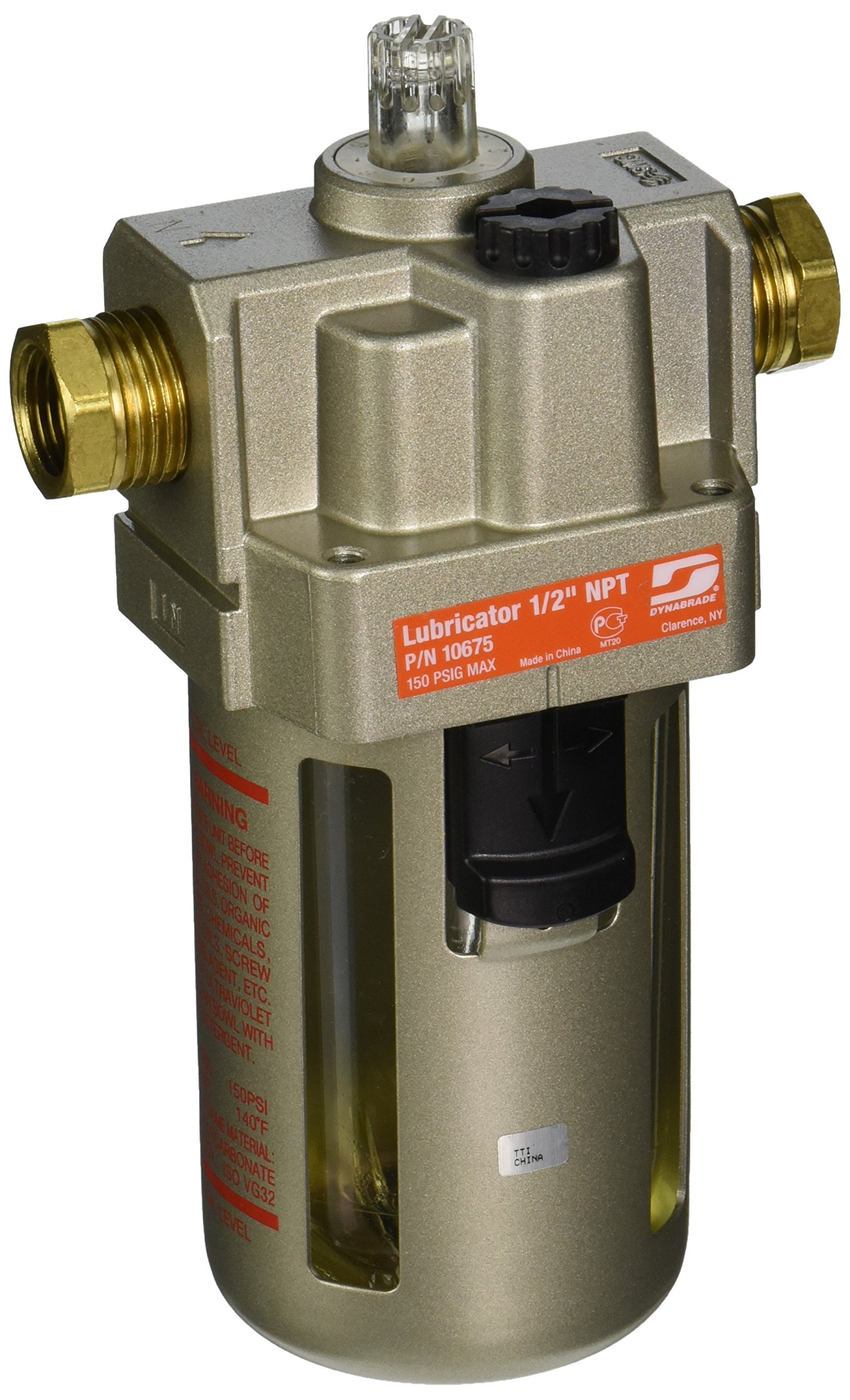 Dynabrade 10675 1/2-Inch  NPT Lubricator