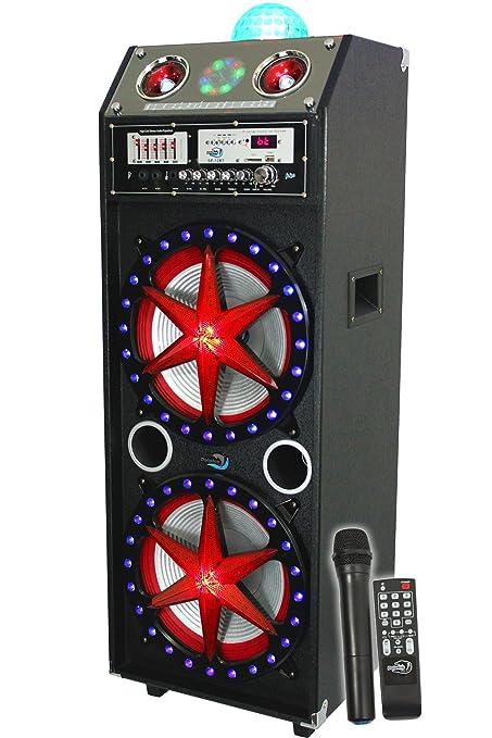 Amazon.com: Dolphin SP-12 BT Bluetooth 2400 W Active Dj ...
