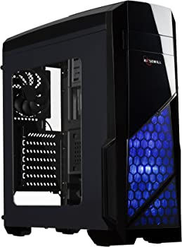 Rosewill NAUTILUS ATX Gaming Mid Tower Computer Case