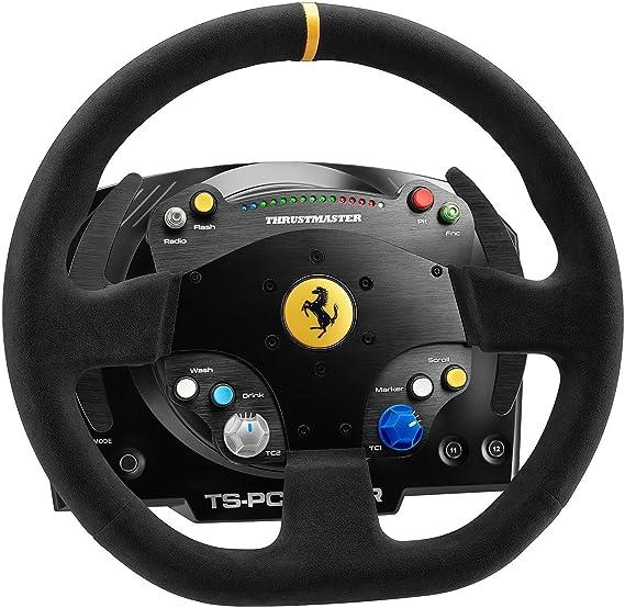 Thrustmaster TS-PC RACER Ferrari 488 Challenge Edition célébrez le 70ème anniversaire de la marque Ferrari avec Thrustmaster compatible PC