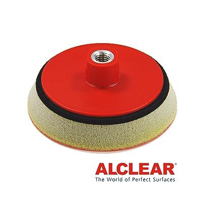ALCLEAR Piattino di sostegno professionale morbido Ø 140 mm, Rosso: Automotive