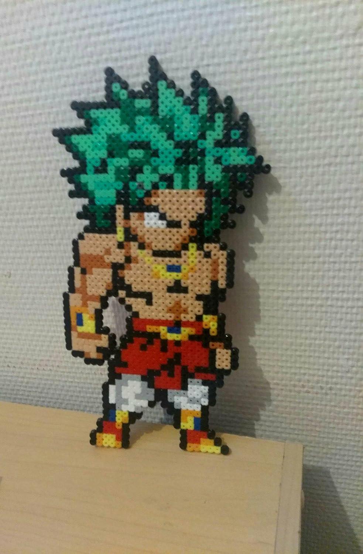Sprite Broly Dragon Ball Z Hama Beads Pixel Art Amazonde