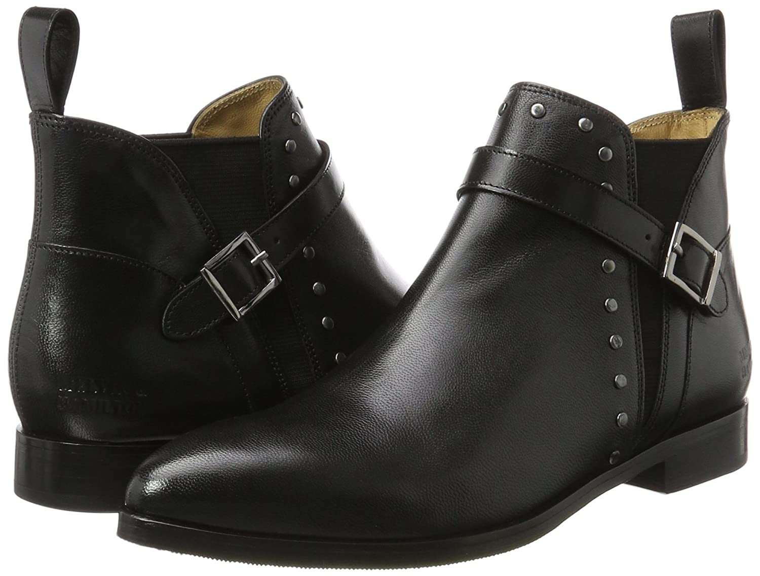 MELVIN & & MELVIN HAMILTON MH HAND MADE schuhe OF CLASS Damen Jessy 28 Chelsea Stiefel 4a6987