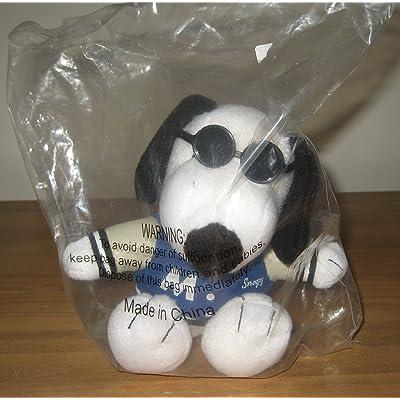 Met Life Joe Cool Snoopy 5 Plush Animal by Metlife: Toys & Games