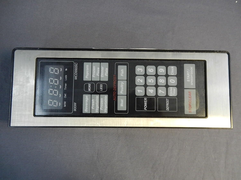 recertificación MCF 3518521000s microondas Panel de control ...