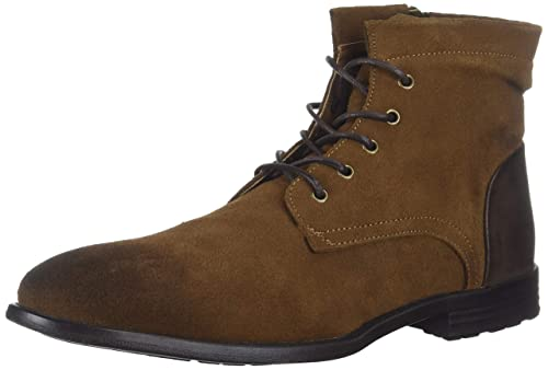 Kenneth Cole REACTION Men's Zenith  Boot, Tobacco, 13 M US best men's dress boots